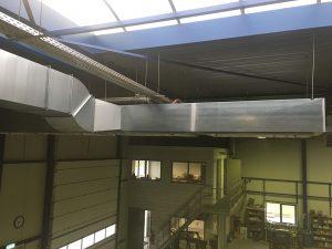 afbeelding over stofafzuiging installatie voor afzuigen van schuurstof