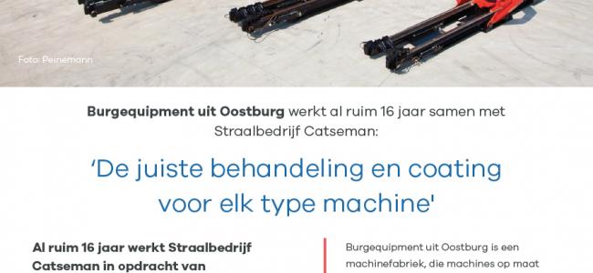 Burgequipment: De juiste behandeling voor elk type machine